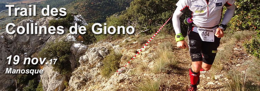 Trail des collines de Giono, Manosque